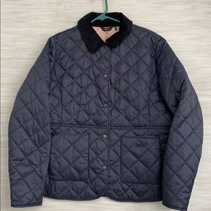 Barbour Deveron Quilt Jacket (Navy)